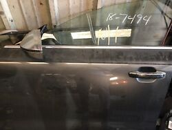 2014-2017 Audi Rs7 S7 A7 Oem Passengerand039s Front Door W/o Laminated Glass