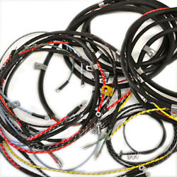 Willys Jeep Wiring Harness Wwii Mb Gpw 1942-44 With Radio Filter Under Dash