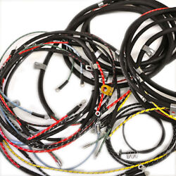 Willys Jeep Wiring Harness Cj3b 1953-56 With Turn Signals Usa Made