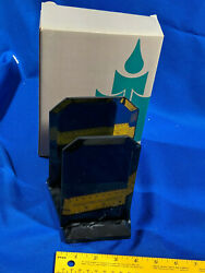 Partylite Po156 Dimensions Marble Beveled Mirror Candle Holder Xmas Gift Decor