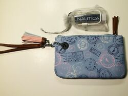 New Nautical Power Sailing Wristlet with Phone Charger