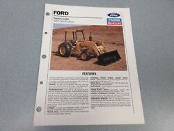 Ford New Holland 345c Tractor Loader Brochure         Lw