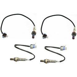 New Set Of 4 O2 Oxygen Sensors Driver And Passenger Side Downstream For Chevy Olds
