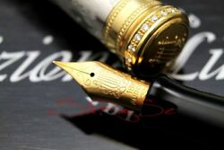 Aurora Giuseppe Verdi La Royal Limited Edition 99 Fountain Pen 950 Platinum