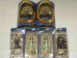 Toybiz Lord Of The Rings Lotr Return Of The King Rotk 6 Action Figures New