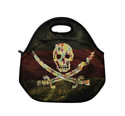 Pirate Thermal Insulated Cooler Waterproof Lunch Tote Storage Picnic Carry Bag