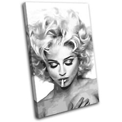 Madonna Music Bad Girl Iconic Celebrities Single Canvas Wall Art Picture Print