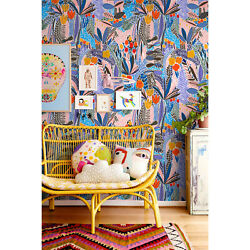 Cute Floral Removable | Vintage Painting | Nursery Repositionable Wall Mural
