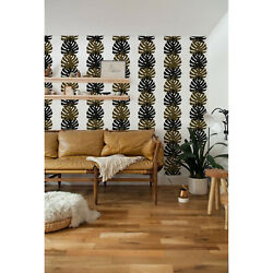 Palm Leaf Tropical Pattern Easy Stick Removable Wallpaper Self Adhesive Pattern