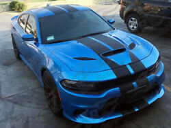 2015 - Up Dodge Charger Srt Hellcat Scat Pack Rt Gt Factory Style Rally Stripe K