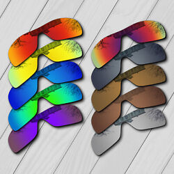 POLARIZED Replacement Lenses For-Oakley Batwolf OO9101 Sunglass Anti-Scratch