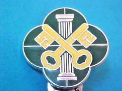 Us Military Police Corps Di Dui Pin Clutchback Crest Medal Badge S605