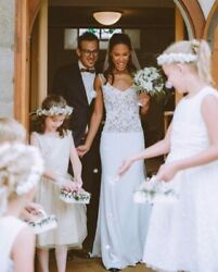 Rime Arodaky And039blushand039 Wedding Dress Designed And Made In Paris Size 10