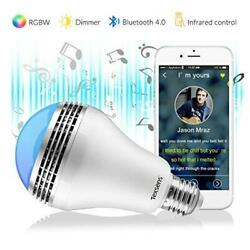 Texsens LED Music Bulb with Colorful Light Twinkle by Music Rhythm.