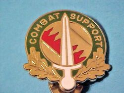 Us 16th Military Police Battalion Di Dui Pin Clutchback Crest Medal Badge N6
