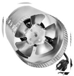 iPower GLFANXBOOSTER4 4 Inch 100 CFM Booster Inline Duct Vent Blower 4