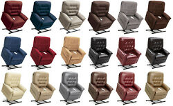 Pride Mobility Lc-358pw Heritage Electric Recliner Power Lift Chair Petite Wide