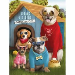 Animated Dogs 5D DIY Diamond Embroidery Painting Cross Stitch Full Square Drills