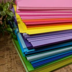 Premium 8.5 X 11 Cardstock Paper Color Paper - Over 50 Colors - Free Shipping