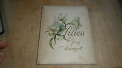 Lilies From Havergal -hayes Lithography Ca 1900 Beautiful Color Litho
