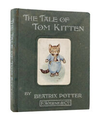 Beatrix Potter – The Tale of Tom Kitten – First UK Edition – 1907 – Warne - 1st