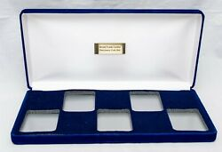 Protective Coin Slab Storage Box For World Trade Center Recovery Coin Set