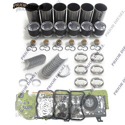 Daewoo D1146t In-frame Kit For Doosan Dh220-3 Dh300-5 Solar 220lc Excavator