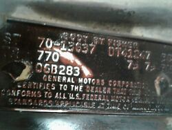 1970 Chevrolet Malabu Work In Progress All Parts Except Engine And Transmission