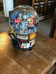 2001 Broadway Plays Musical Snow Globe Twin Towers Before 911