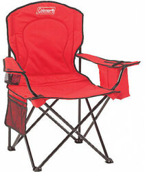 Coleman Camping Outdoor Beach Xl Big Oversized Quad Folding Chair Black Red Blue