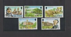GB Isle of Man 1980 Manx Pioneers set CTO 1st Day of issue FU