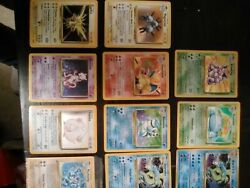 Pokemon Cards - Entire Collection Of.1st Edition, Rare, Holos And More