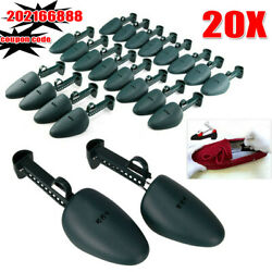 10 Pairs Adjustable Plastic Shoe Tree Men Shoes Stretcher Shaper Keeper Expander