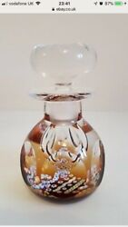 Caithness And039golden Jubileeand039 Perfume Bottle - 25 Of 100 Closed At 38 Paperweight