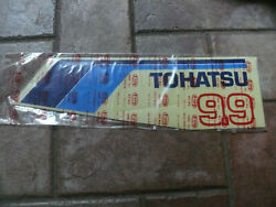 1 Oem Tohatsu Hood / Engine Cover Side Marker Decal 9.9 Hp 365-67543-0 Sticker