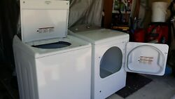 Kenmore Top Load Washer W/ Detergent Dispenser, And Kenmore Gas Dryer