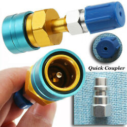 R1234YF Low Side Coupler to R134A Adapter Quick Fitting Coupler Connector Car