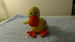Original Quackers The Beanie Baby 1994 With Pvc Pellets Retired