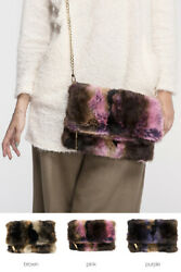 Jinscloset C.C Women#x27;s Fashion Shoulder Faux Fur Cross Handbags $29.99