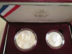 1998 Us Robert F. Kennedy And Jfk 2 Coin Commem 1 And 50c Set  565