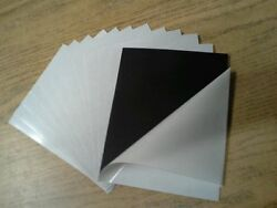 500 Self Adhesive Flexible Magnetic Sheets 8.5 X 11 Inches