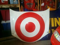 Nascar Race Used Target Hood Authentic Autographed By Racing Legend Casey Mears