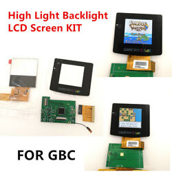 High Light Backlight Lcd Screen Kit For Nintendo Game Boy Color Gbc Console