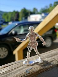 🇺🇸hand Casted 999silver Toy Soldier Platoon Lead🇺🇸