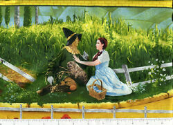 bty classic judy garland THE WIZARD OF OZ fabric border quilting treasues