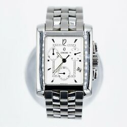 Concord Sportivo Chronograph Stainless Steel Womenand039s Quartz Watch 14.h1.610