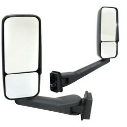 New Mirrors Set Of 2 Driver And Passenger Side Heated For Chevy Lh Rh Gmc Pair