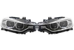 Set Left And Right Genuine Bi-xenon Adaptive Akl Headlights Lamps For Bmw F30 F31