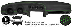 Green Stitching Dash Dashboard Leather Cover Fits Datsun 260z 2+2