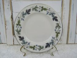 Royal Doulton Burgundy 6-1/2 Bread And Butter Plate In Superb Condition
